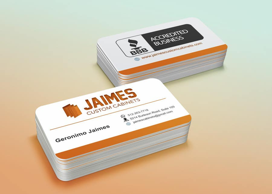 Entry #9 by utkarshpanwar for Design some Business Cards For Cabinet ...