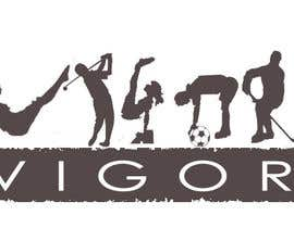 #166 para Logo Design for Vigor (Global multisport apparel) por gravity12345