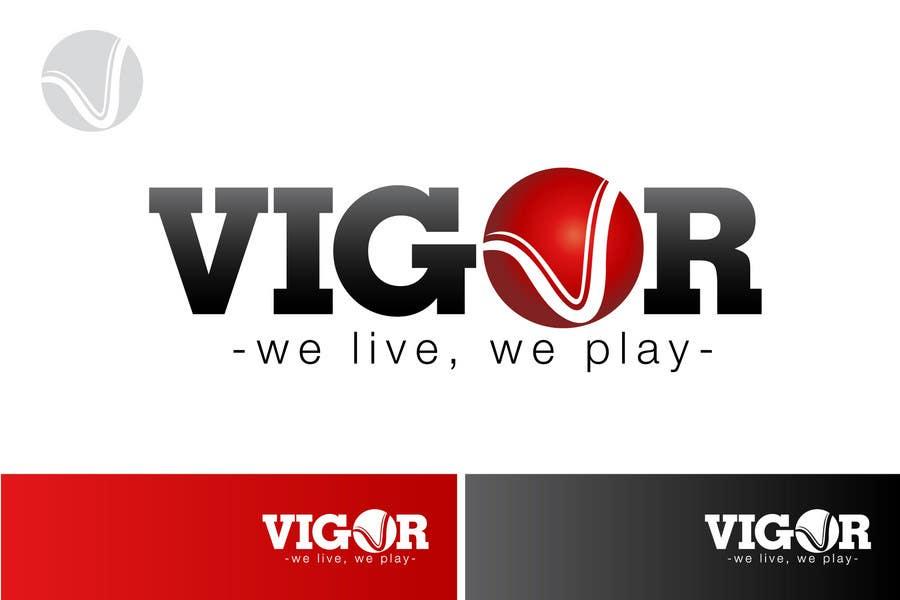 Contest Entry #                                        381                                      for                                         Logo Design for Vigor (Global multisport apparel)