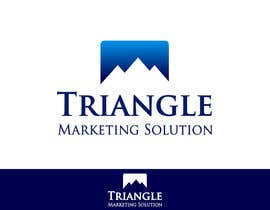 #59 untuk Design a Logo for Traingle Marketing Solutions oleh catalinorzan