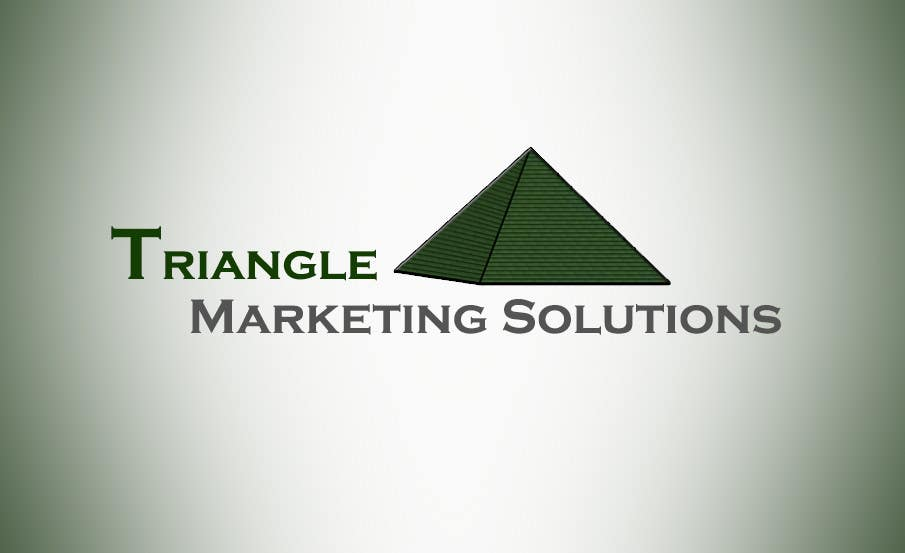 Penyertaan Peraduan #5 untuk Design a Logo for Traingle Marketing Solutions