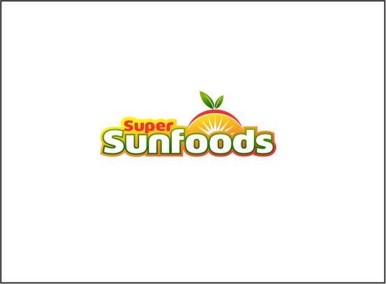 Penyertaan Peraduan #84 untuk Design a Logo for Super Sunfoods: Your Health Supplement Store