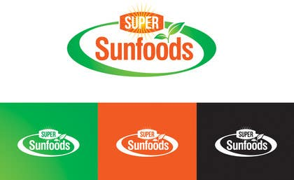 #60 para Design a Logo for Super Sunfoods: Your Health Supplement Store por ajdezignz