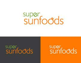 #31 para Design a Logo for Super Sunfoods: Your Health Supplement Store por hauriemartin