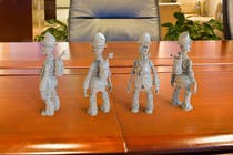 """Design Steam Punk Automatons  """"Walker"""" için 3D Modelling9 No.lu Yarışma Girdisi"""