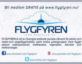 nº 12 pour Design a flyer for an aviation social network on the Internet par filipscridon