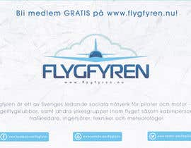 nº 15 pour Design a flyer for an aviation social network on the Internet par filipscridon