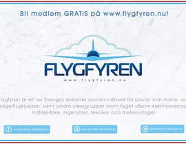 nº 19 pour Design a flyer for an aviation social network on the Internet par filipscridon