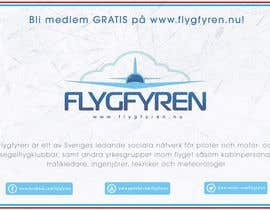 nº 23 pour Design a flyer for an aviation social network on the Internet par filipscridon