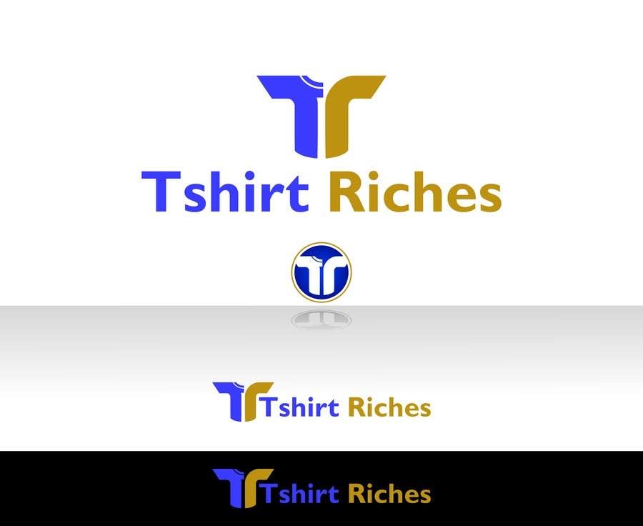Bài tham dự cuộc thi #                                        59                                      cho                                         Design a Logo for TshirtRiches