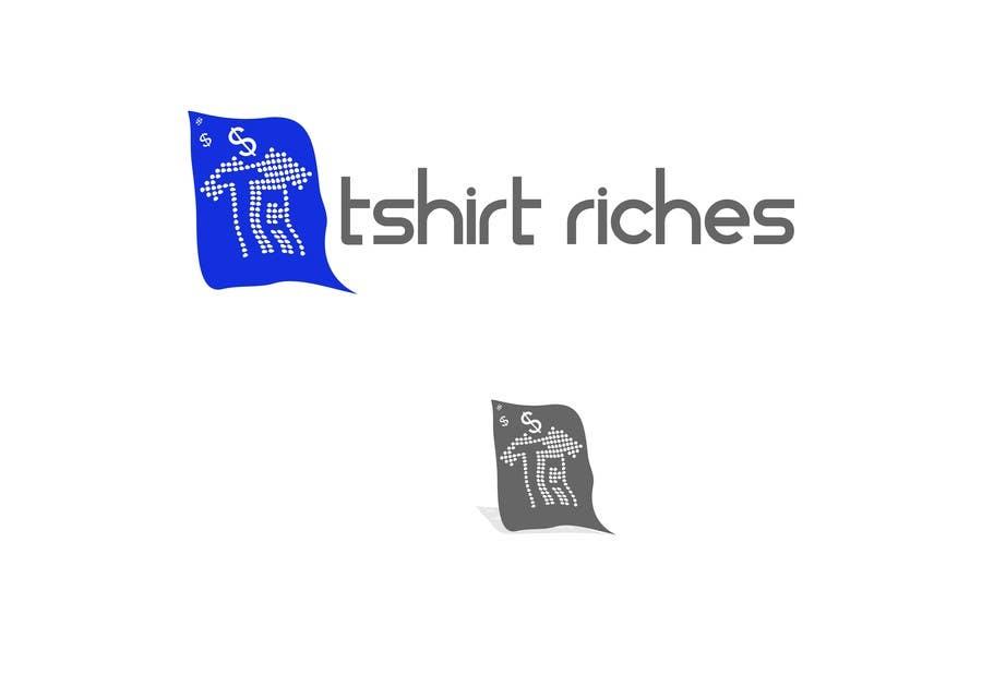 Bài tham dự cuộc thi #                                        84                                      cho                                         Design a Logo for TshirtRiches