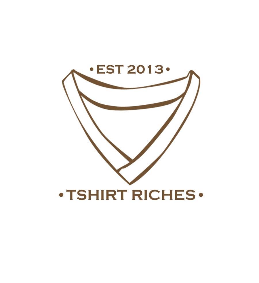 Bài tham dự cuộc thi #                                        11                                      cho                                         Design a Logo for TshirtRiches