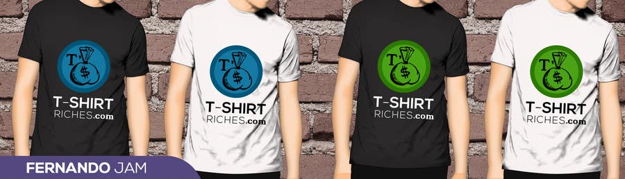 Bài tham dự cuộc thi #                                        8                                      cho                                         Design a Logo for TshirtRiches