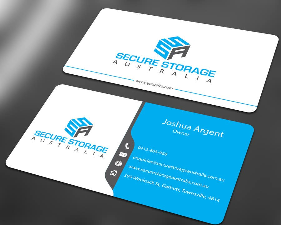 Entry #47 by ALLHAJJ17 for I need a business card designed for my ...