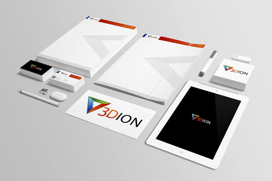 Proposition n°74 du concours Design a Logo for 3DION & THE 3D PRINTER