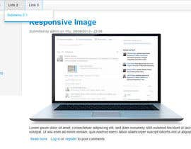 nº 6 pour Creation of a Drupal 7 theme with responsive CSS par tiagocosta84