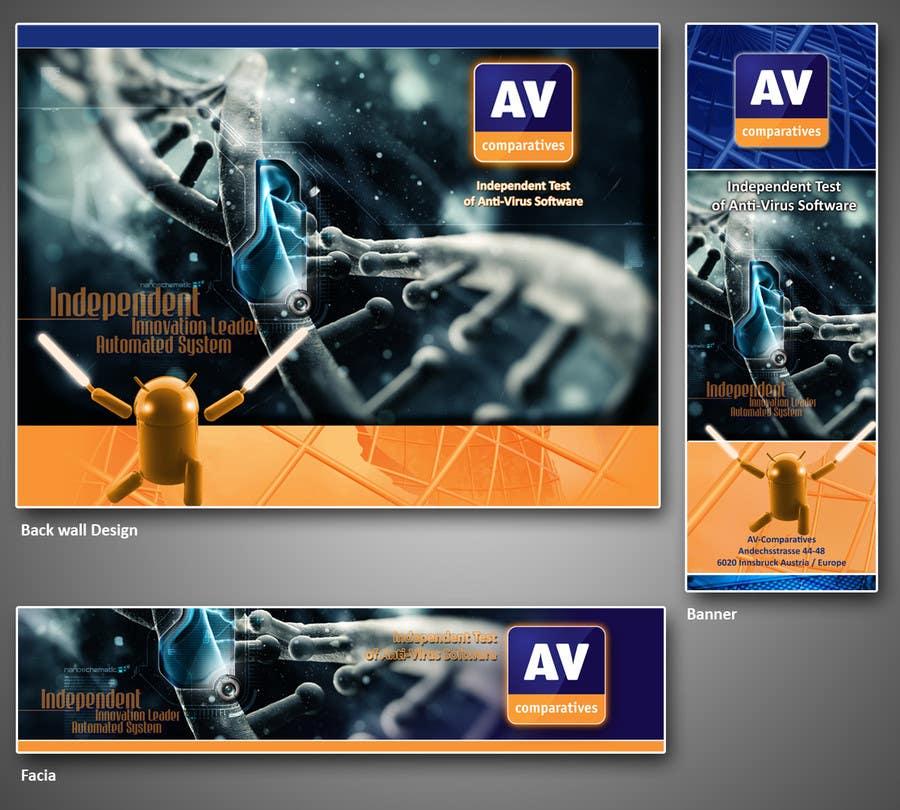 Bài tham dự cuộc thi #24 cho Exhibition Stand Design (technical fair) Virusbulletin