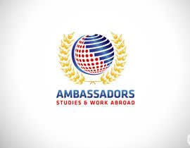 #43 for AMBASSADORS ABROAD LOGO by CTLav