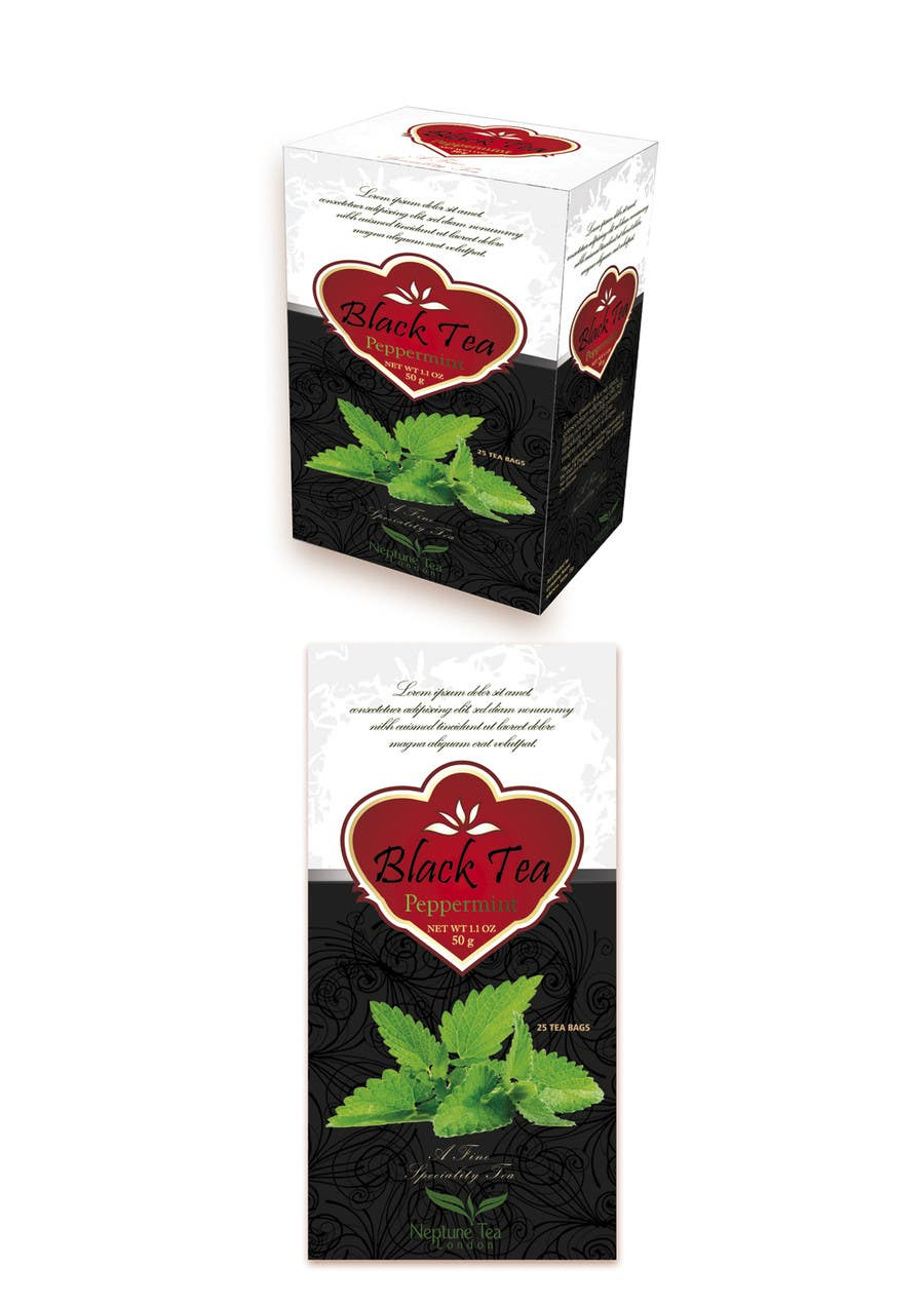 Proposition n°8 du concours Create Print and Packaging Designs for premium tea range