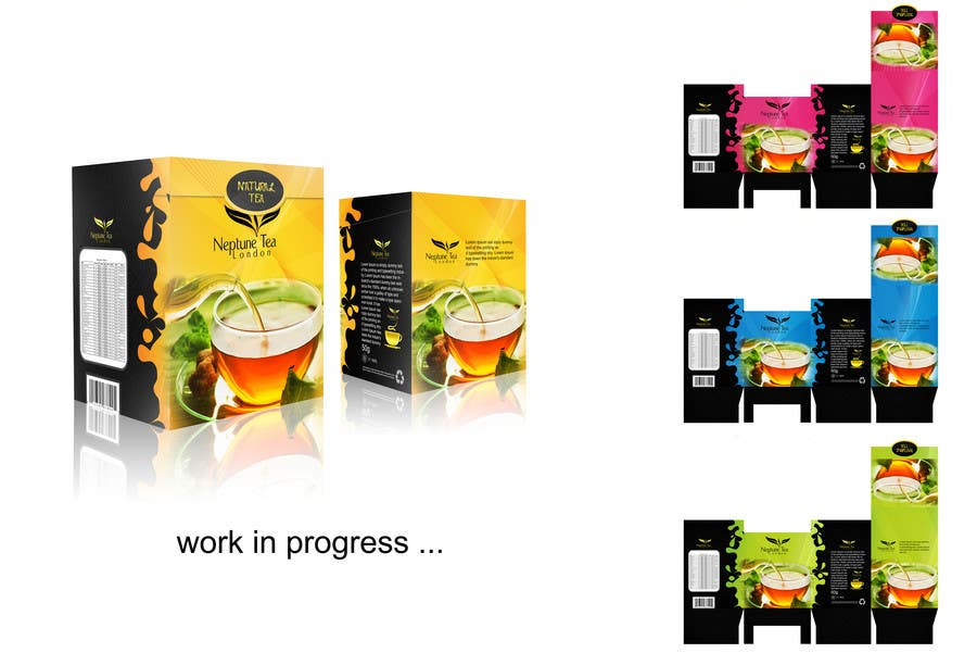 Proposition n°13 du concours Create Print and Packaging Designs for premium tea range