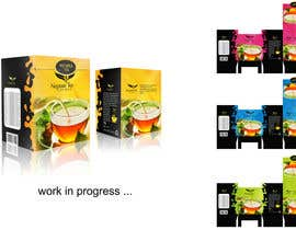 nº 13 pour Create Print and Packaging Designs for premium tea range par marwenos002