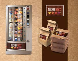 sonotdesign tarafından Graphic Design (logo, signage design) for TuckerBoxx fresh food vending machines için no 118
