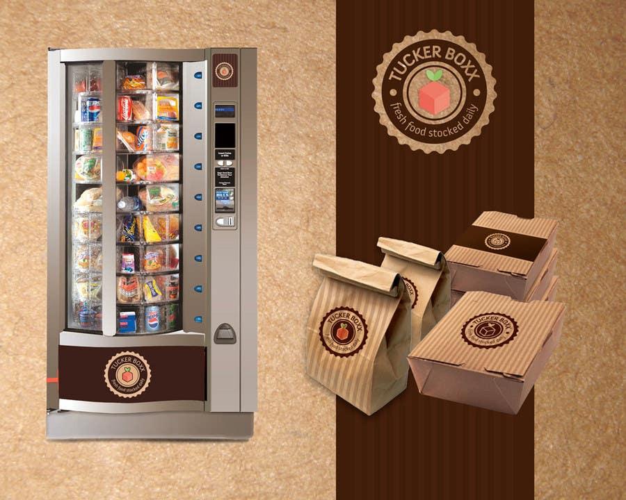 Inscrição nº                                         120                                      do Concurso para                                         Graphic Design (logo, signage design) for TuckerBoxx fresh food vending machines