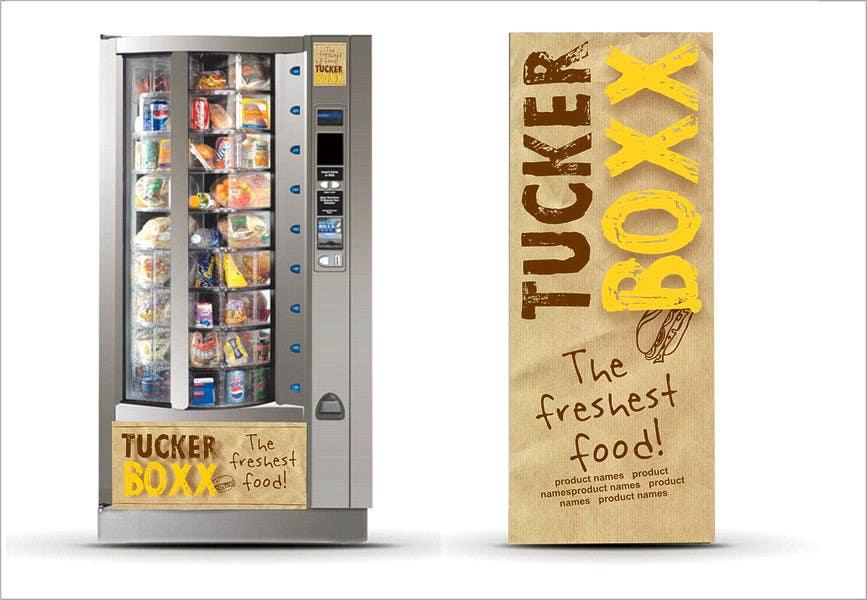 Конкурсная заявка №138 для Graphic Design (logo, signage design) for TuckerBoxx fresh food vending machines