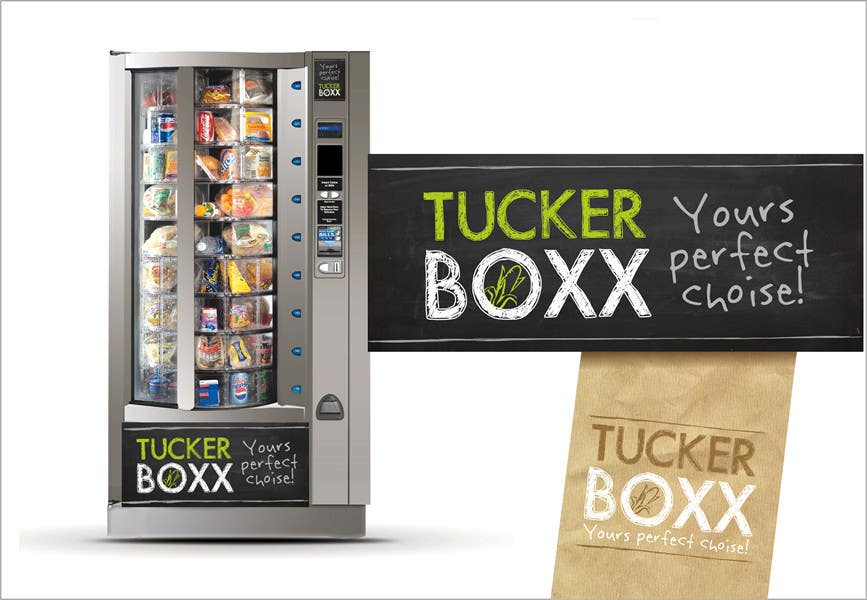 Inscrição nº                                         43                                      do Concurso para                                         Graphic Design (logo, signage design) for TuckerBoxx fresh food vending machines