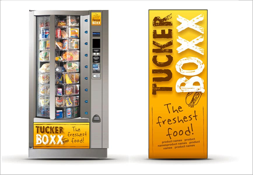 Inscrição nº                                         112                                      do Concurso para                                         Graphic Design (logo, signage design) for TuckerBoxx fresh food vending machines