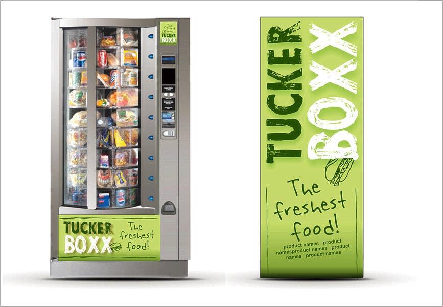 Inscrição nº                                         136                                      do Concurso para                                         Graphic Design (logo, signage design) for TuckerBoxx fresh food vending machines