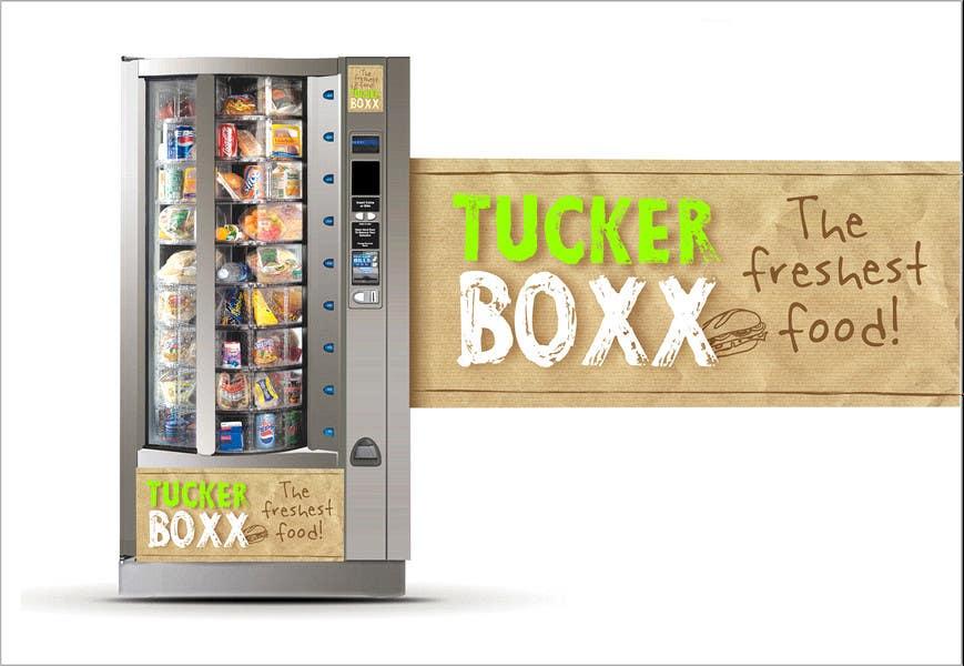 Konkurrenceindlæg #                                        58                                      for                                         Graphic Design (logo, signage design) for TuckerBoxx fresh food vending machines