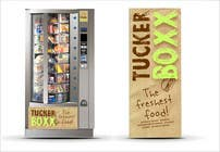 Graphic Design Inscrição do Concurso Nº141 para Graphic Design (logo, signage design) for TuckerBoxx fresh food vending machines