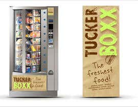 #141 para Graphic Design (logo, signage design) for TuckerBoxx fresh food vending machines por krismik