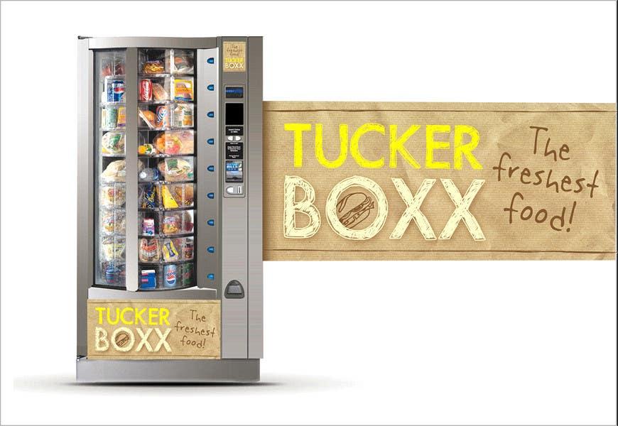 Inscrição nº                                         59                                      do Concurso para                                         Graphic Design (logo, signage design) for TuckerBoxx fresh food vending machines