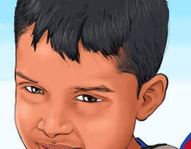 #31 para Caricature design of my son por AkshayArtPawar