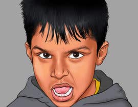 #43 para Caricature design of my son por AkshayArtPawar