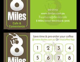 #13 for Design a Cafe Business Card & Coffee Card on back af petersamajay