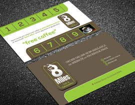 #17 for Design a Cafe Business Card & Coffee Card on back af lipiakhatun586
