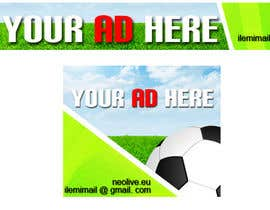 "#28 for Design a banner for ""YOUR AD HERE"" live sports site af inkpotstudios"
