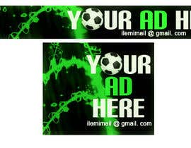 "#34 for Design a banner for ""YOUR AD HERE"" live sports site af inkpotstudios"