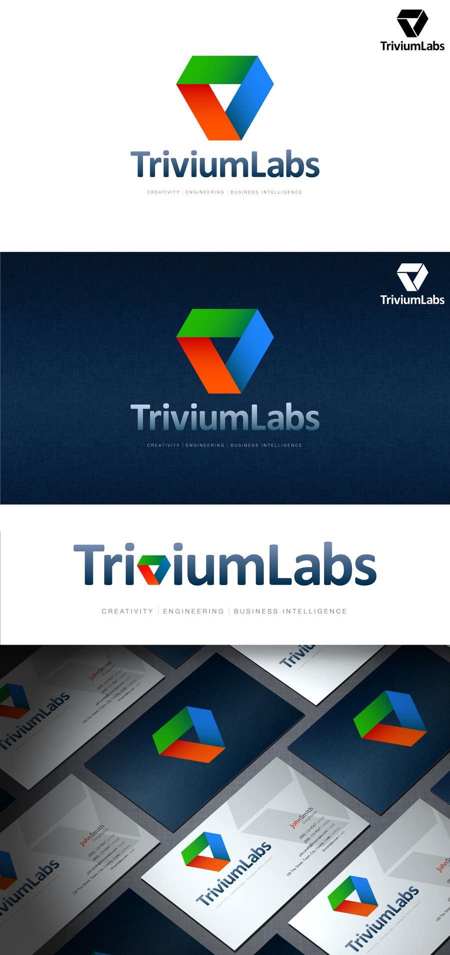 Konkurrenceindlæg #21 for Design a Logo for Trivium Labs