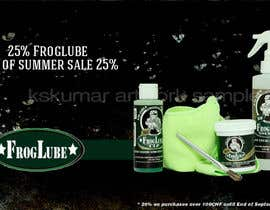 "#4 for Banner design for ""End of summer sale"" on homepage af kskumar2010"