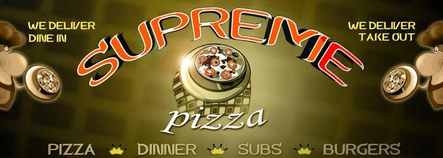 Bài tham dự cuộc thi #                                        88                                      cho                                         Design a sign for a pizzeria
