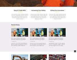#3 for Design a 7 Page Mockup For A Bidding SIte av Stunja