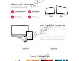 #17 for Design a 7 Page Mockup For A Bidding SIte av toxsltech