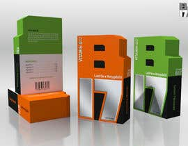 #23 para Design of packaging box for vitamins por karoll