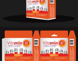 #46 para Design of packaging box for vitamins por YogNel