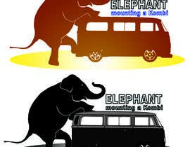 #5 for Logo Design - Elephant mounting a Kombi van by kashandkelly