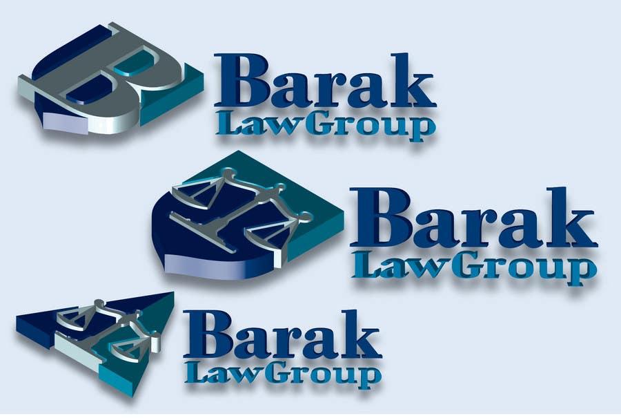 Inscrição nº                                         316                                      do Concurso para                                         Logo Design for Barak Law Group